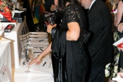 Guests peruse our Silent Auction during Cocktail Hour