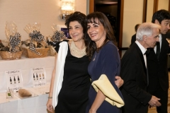 AECP Country Director Nune Yeghiazaryan and the Honorable Gassia Apkarian pose for a photo