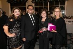 Armenian Assembly of America Western Regional Director Mr. Mihran Toumajian with wife, Mrs. Connie Melikian and Mrs. Joy Kayajanian