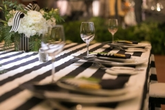A look at the tablescape from last year's Gala