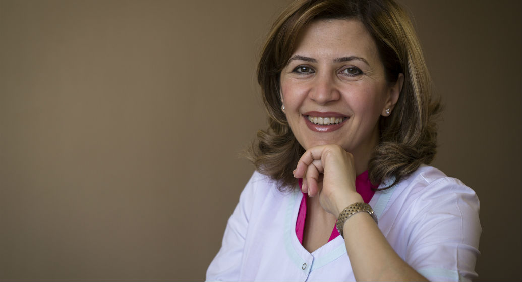 Dr. Anna Hovakimyan, who performs the cornea transplants