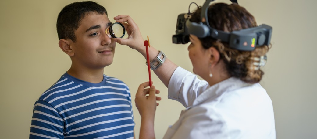 low vision center